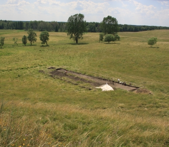 Excavations in Skomack Wielki