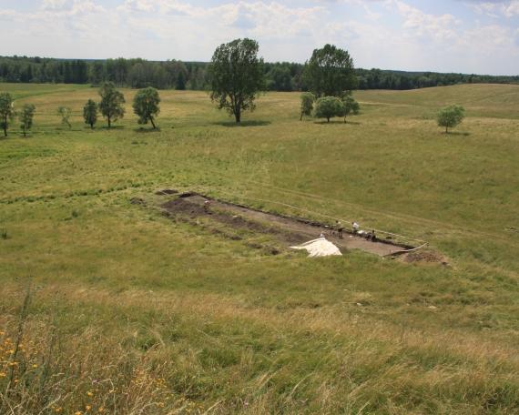 Badania wykopaliskowe w Skomacku Wielkim