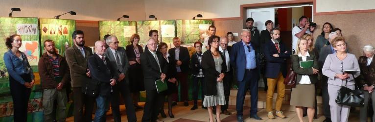 Otwarcie wystawy w Jeleniewie