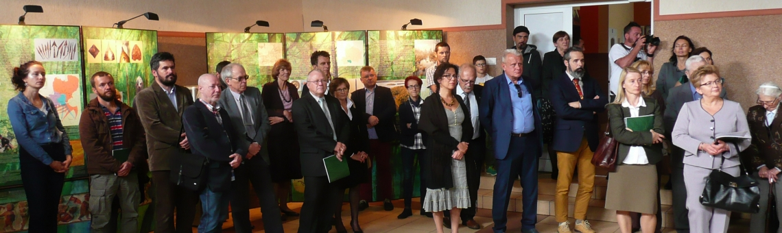Opening day of the exhibition in Jeleniewo